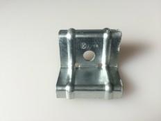 ハゼ折板用 ソーラーパネル取付金具用押え金具 端部用(モジュール厚み46㎜)