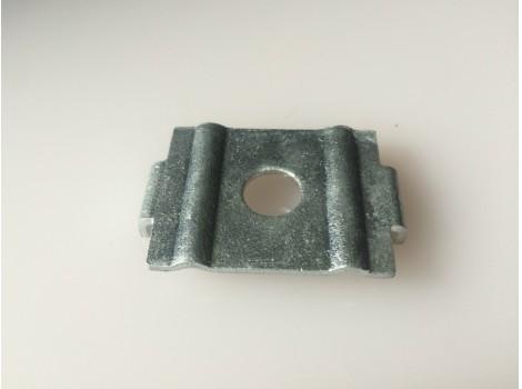 太陽光パネル取付金具 太陽電池取付金具 MKU/Lシリーズ (中間部用、モジュール厚み32㎜)