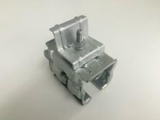 MKUシリーズ 太陽光モジュールつかみ金具上曲げタイプ (端部用セットモジュール厚み46㎜)