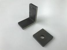 ハイマンガン材のプレス加工  板厚t4.5 リニア