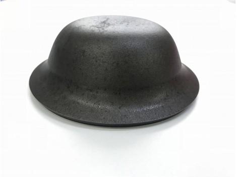 ハイマンガン鋼のプレス加工  板厚t4.5 リニア(絞り)