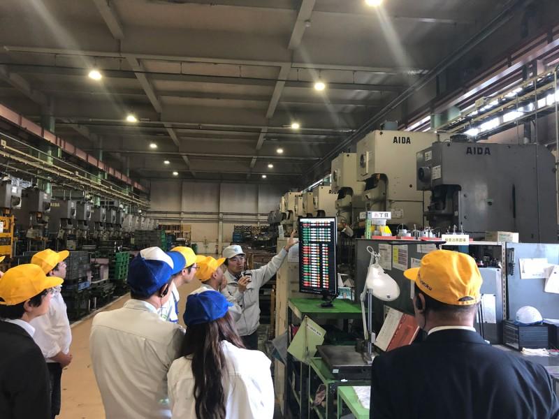 11/15  にIoT工場見学会が行われました