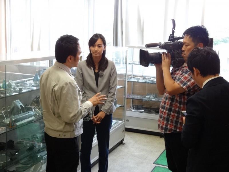 東海テレビの浦口史帆アナが久野功雄専務にインタビューを行いました。