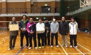 バドミントン選手権大会にて久野金属が3部リーグ優勝!!