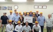 ドイツよりカールスルー工科大学の学生16名が工場見学で来社