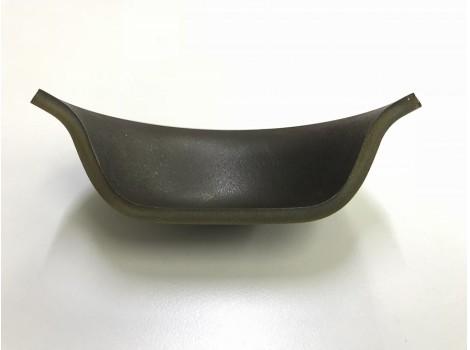 ハイマンガン鋼のプレス加工  板厚t4.5 リニアモーターカー向け(絞り)