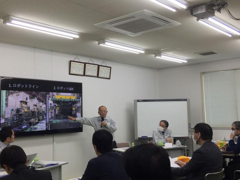 久野修会長の講演会が行われました