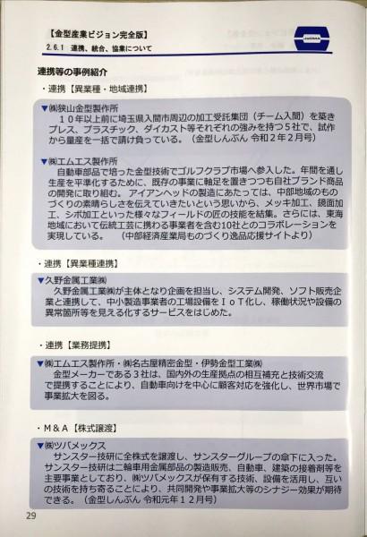 日本金型工業会の冊子「令和時代の金型産業ビジョン」に久野金属工業がシステム開発、IoT Goサービスについて掲載されました